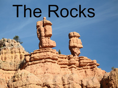 The rock formations in Utah are bizarre and amazing!