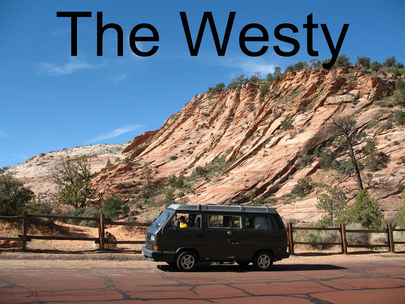 With our free Delta tickets, we flew to Salt Lake City, and rented The Westy, and drove all over Utah!