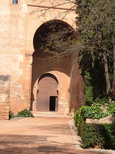 The Justice Gate of the Alhambra.