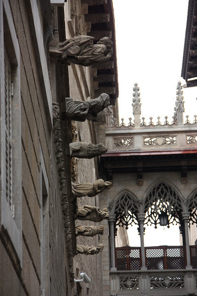 Check out the gargoyles.