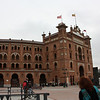 The bullfight ring in Madrid