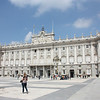 Finally, we got to go inside the Palacio Real.  No Spanish royalty today.