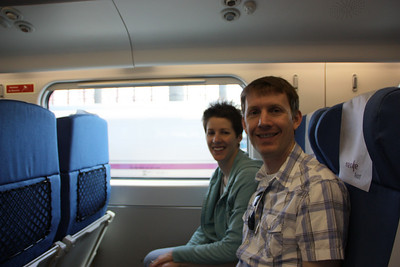 On the train to Toledo