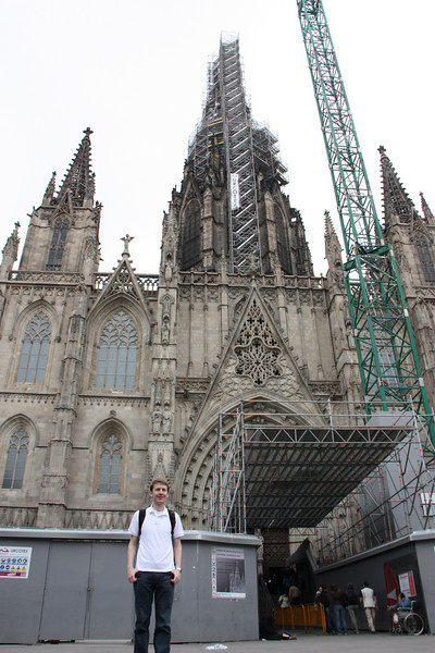 Barcelona's cathedral.