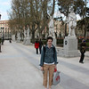 Plaza del Oriente.  We loved this Plaza right across from the Royal Palace.  It was very lovely and had the cutest apartments on it.  If I were to live in Madrid, I would want to live on this Plaza.