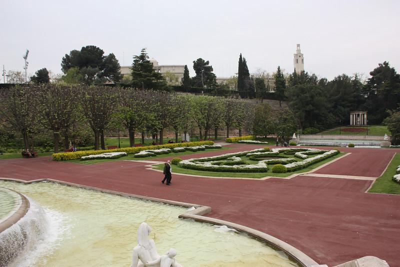 Some gardens.