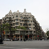 La Pedrera - a Gaudi designed apartment building.