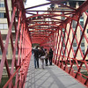 One of the pedestrian bridges over the river.  This particular one was built by the same guys that did the Eiffel Tower.