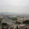 Barcelona from the Palau Nacional.