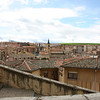 Looking out over Segovia.