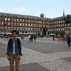 We came back to the Plaza Mayor that night after Jared and Ryan got done with work.