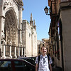Jared at the cathedral