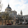 Madrid's cathedral.  Completed in 1993 which, according to Jared, makes it way less cool.
