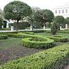 Gardens in the Plaza del Oriente.
