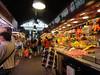 Barcelona - market near our hotel