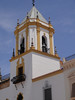 Church bell tower in Ronda