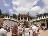 Barcelona - Antoni Gaudi architecture - Park Guell entrance