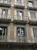 Barcelona - unique iron rod balconies