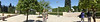 Panoramic at amphitheater