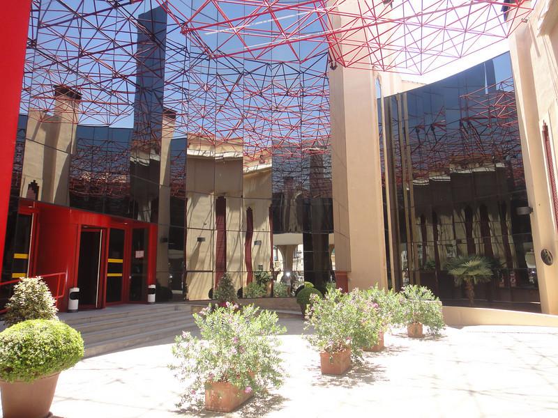 Random modern building in Ronda