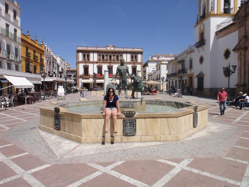 Ronda town square