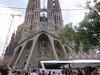 Barcelona - Antoni Gaudi architecture - La Sagrada Familia