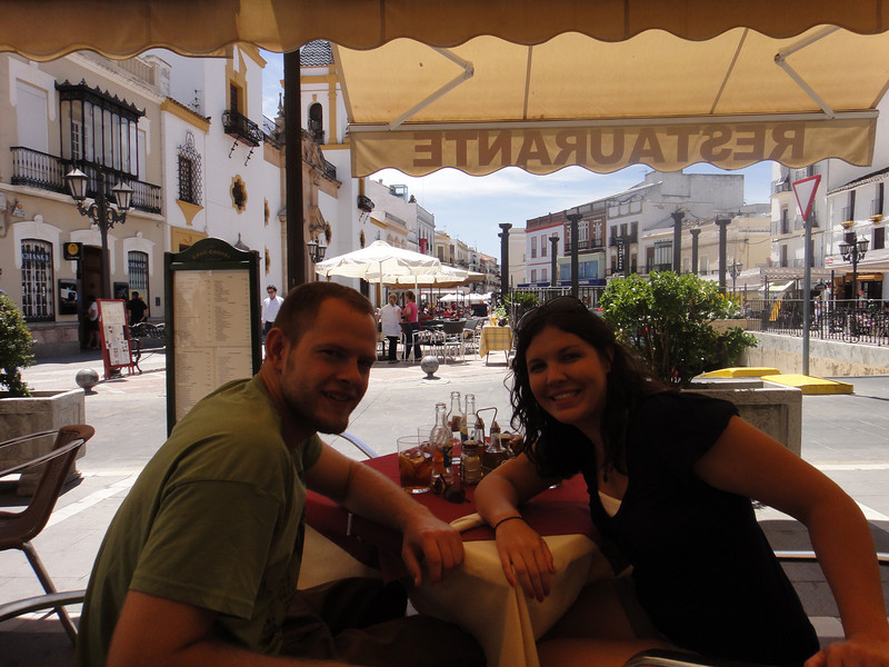 Lunch time in Ronda