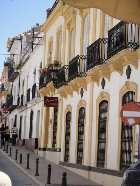 Spanish architecture - street in Ronda