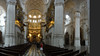 Granada cathedral - panoramic - with the nave and view of pulpit