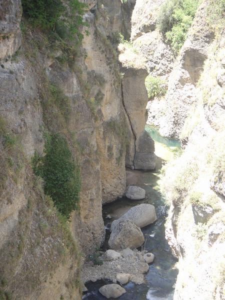 Gorge in Ronda