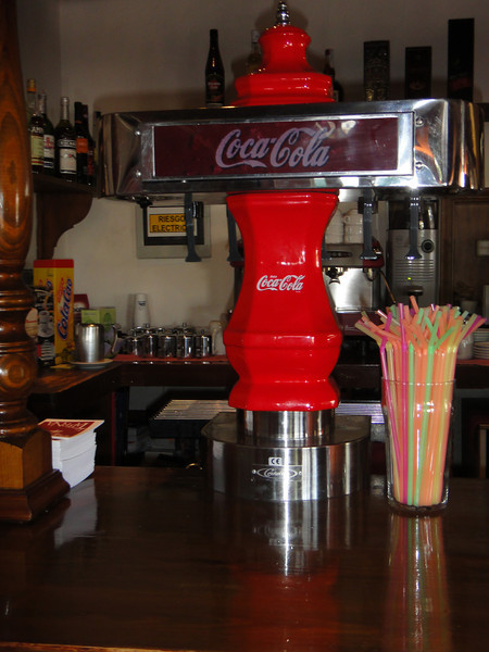 Old coke dispenser