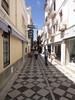 Tiled street in Ronda