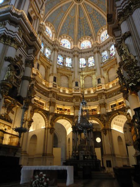 Granada cathedral - pulpit