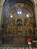 Granada cathedral - all gold shrine