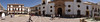 Ronda town square panoramic