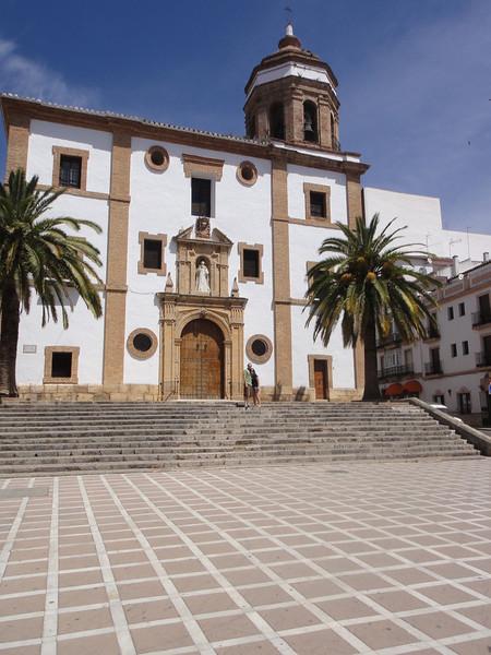 Cuidad de Ronda - main church