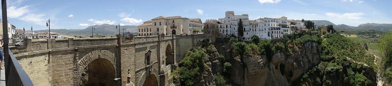Bridge/gorge in Ronda