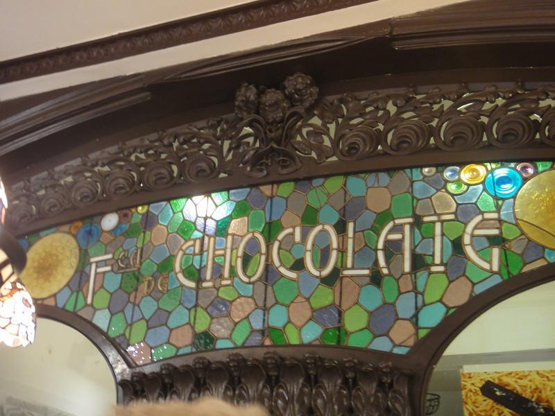 Barcelona - chocolate shop