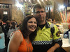 Mikel Etxea - Had to get a picture with a Spanish police officer. Funny how he looks like he could be from MN