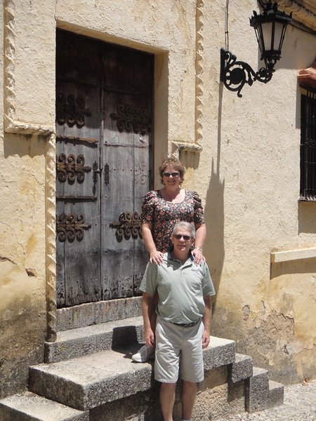 Russ and Mary in Ronda