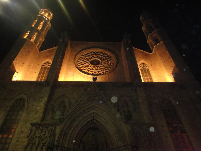 Barcelona - random beautiful church we came upon