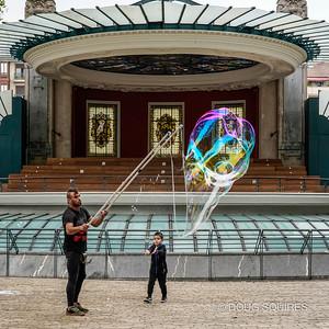 Bubbles in the Plaza