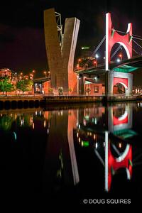 Red Arches by Daniel Buren