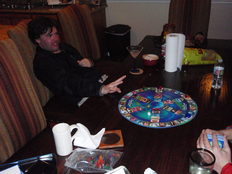 Jeff won by outlasting the others.  He also missed breakfast the next day while he slept off his victory.
