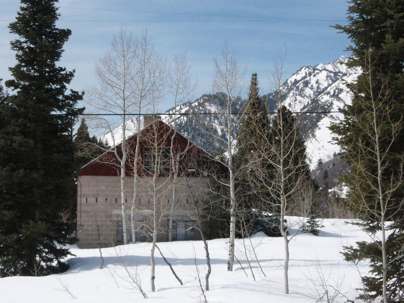 This shot epitomizes northern Utah for me:  peaceful, rustic, mountainous, and snowy.
