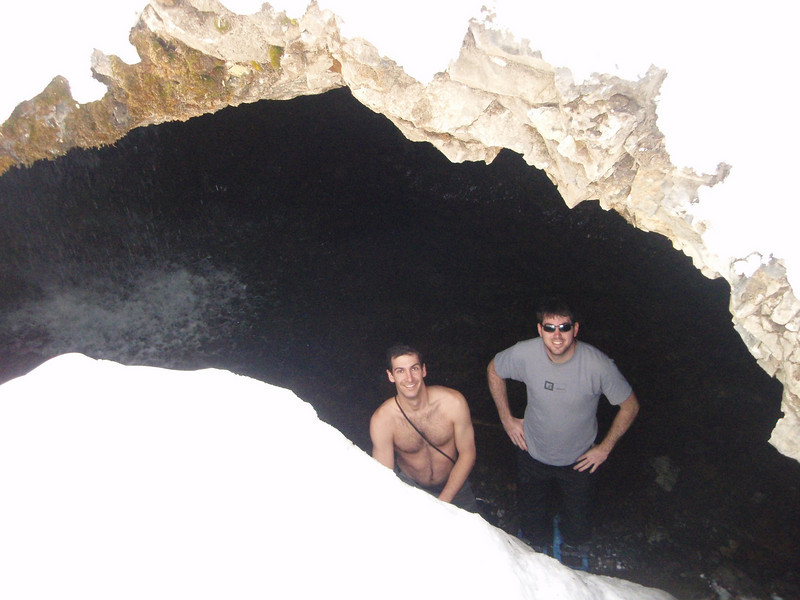 Daniel and I from the cavern.