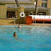 Kids enjoy pool at the Surf & Sand Resort, Laguna Beach, CA