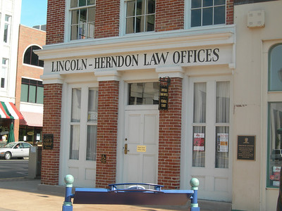 Lincoln-Herndon Law offices, Springfield IL