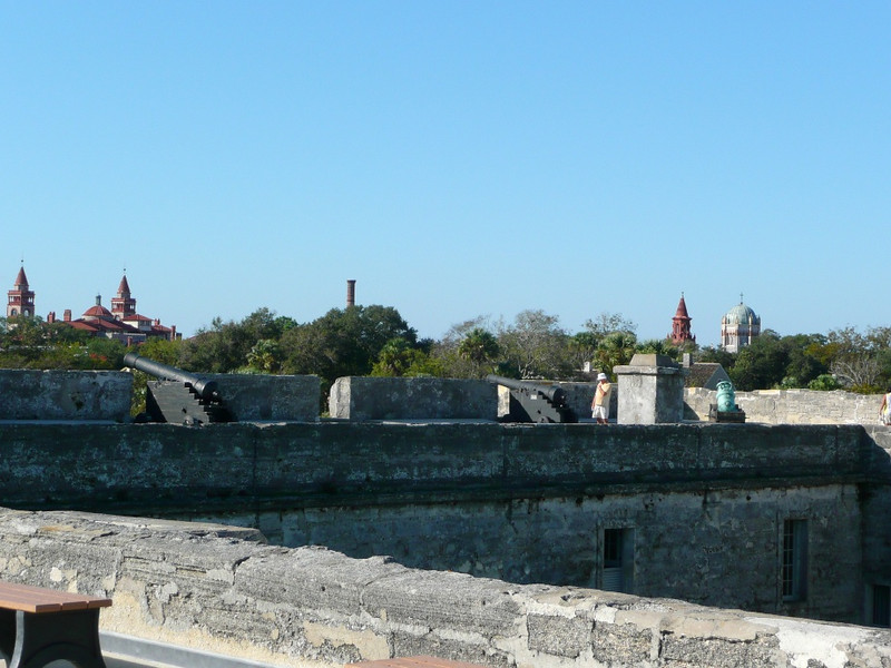 Castillo de San Marcos is a Spanish built fort located in the city of St. Augustine, Florida, United States. It was known as Fort Marion from 1821 until 1942, and Fort St. Mark from 1763 until 1784 while under British control