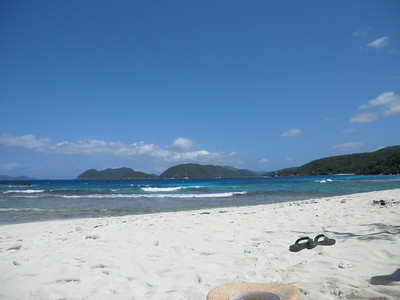 Beach #1: Dennis.  Beautiful white sand (all made up of tiny coral bits) and perfectly clear warm turquoise water.